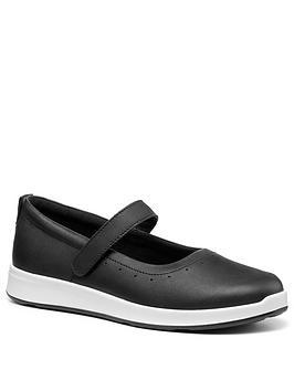 Hotter Hotter Slender Mary Jane Shoes - Black Picture