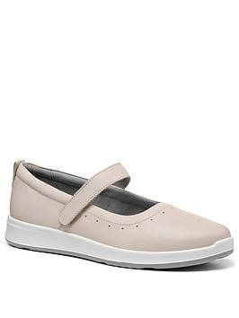 Hotter Hotter Slender Mary Jane Shoes - Beige Picture