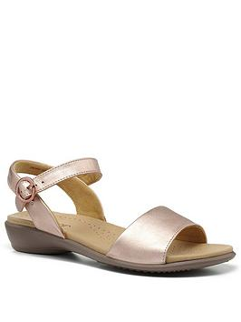 Hotter Hotter Tropic Ankle Strap Sandals - Rose Gold Picture