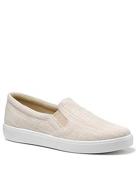 hotter-tara-canvas-slip-on-shoes-cream