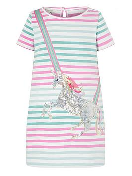 monsoon-girls-blake-unicorn-short-sleeve-sweat-dress-multi