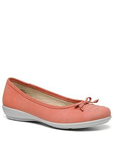 hotter-emmy-ballet-pumps-coral