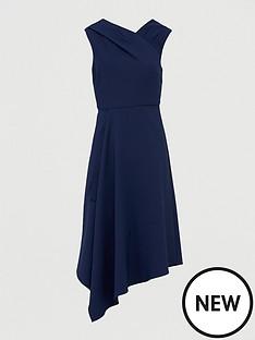 v-by-very-mila-draped-skirt-prom-dress-navy