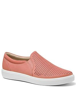 Hotter Hotter Daisy Deck Shoes - Coral Picture