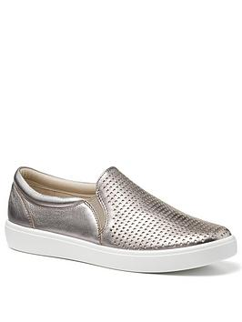 Hotter Hotter Daisy Deck Shoes - Pewter Picture