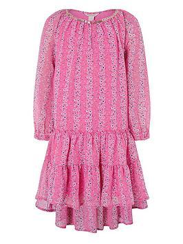 Monsoon Monsoon Girls S.E.W. Trisha Dress - Pink Picture