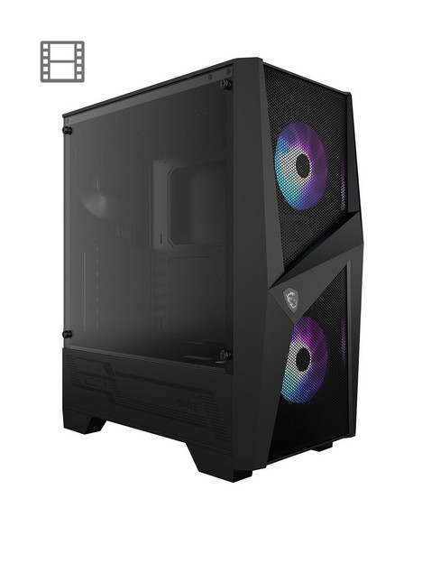 msi-msi-mag-forge-100r-mid-tower-gaming-computer-case-black