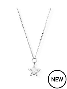 chlobo-sterling-silver-cubic-zirconia-quinary-star-necklace