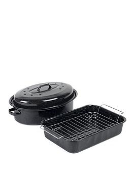 Russell Hobbs Russell Hobbs Romano Vitreous Enamel Roaster And  ... Picture