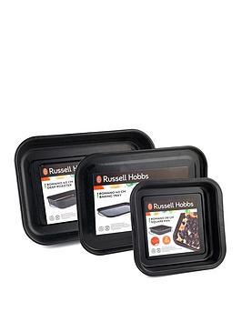 russell-hobbs-romano-vitreous-enamel-square-baking-pan-baking-tray-and-deep-roaster