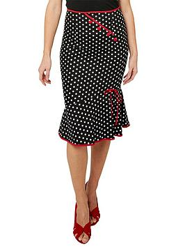 joe-browns-the-bop-skirt-black-white