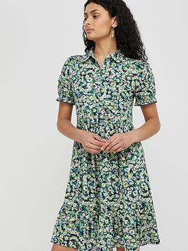 Monsoon Monsoon Reese Short Jersey Dress - Navy Picture