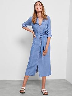 mint-velvet-chambray-belted-shirt-dress-blue