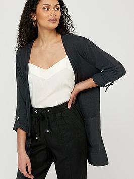 Monsoon Monsoon Carrie Linen Woven Cover Up Picture