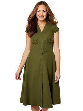 Joe Browns Joe Browns Darling Desert Dress - Khaki Picture