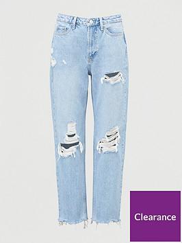 v-by-very-rippednbspmom-jeans-bleach-wash