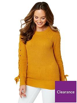 joe-browns-chunky-knit-jumpernbsp--yellow