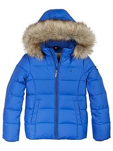 tommy-hilfiger-girls-essential-faux-fur-hooded-jacket