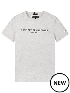 tommy-hilfiger-boysnbspessential-logo-short-sleevenbspt-shirt-grey