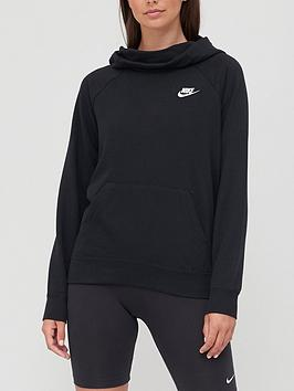 Nike Nike Nsw Essential Funnel Hoodie - Black Picture