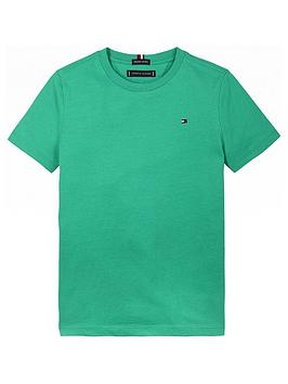 tommy-hilfiger-boys-short-sleeve-essential-flag-t-shirt-green