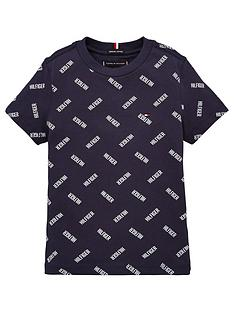 tommy-hilfiger-boys-short-sleeve-all-over-print-t-shirt-navy