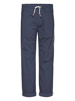 tommy-hilfiger-boys-stretch-poplin-trouser-navy