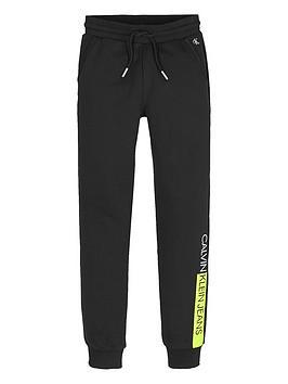 calvin-klein-jeans-boys-institutional-block-jogger-black
