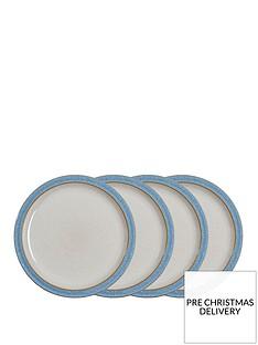 denby-elements-blue-dinner-plates-ndash-set-of-4