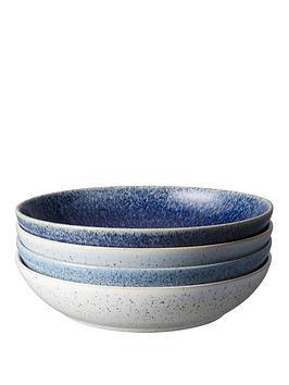 Denby Denby Studio Blue 4-Piece Pasta Bowl Set Picture