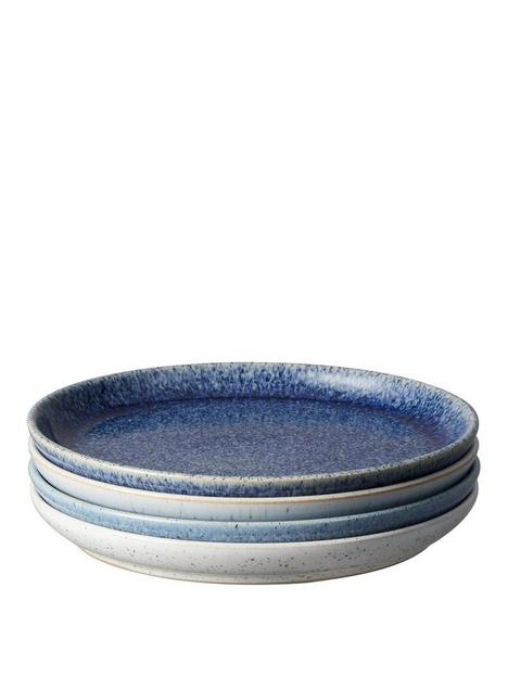denby-studio-blue-4-piece-coupe-medium-plate-set