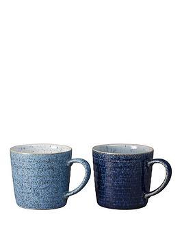 Denby Denby Studio Blue 2-Piece Mug Set Picture