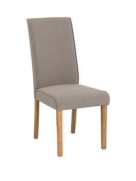 Julian Bowen Julian Bowen Seville Linen Dining Chair Picture