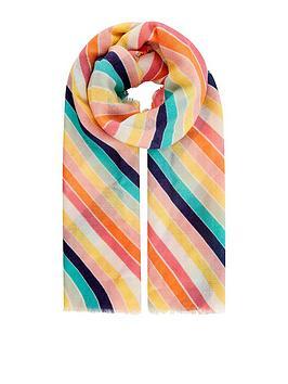 Accessorize Accessorize Rainbow Blanket Scarf - Multi Picture