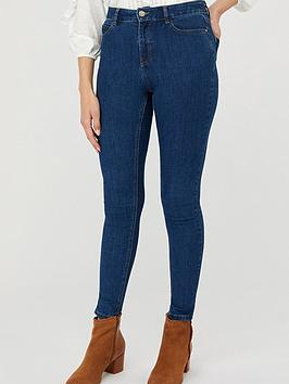 Monsoon Monsoon Iris Skinny Organic Cotton Denim Jeans - Blue Picture