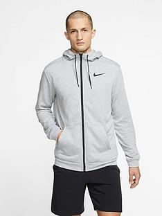 nike-training-dry-full-zip-fleece-hoodie-dark-grey-heathernbsp