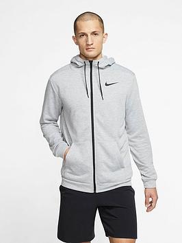 nike-training-dry-full-zip-fleece-hoodie-dark-grey-heathernbsp