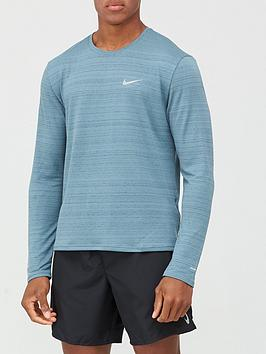 nike-miler-long-sleeve-running-top-blue