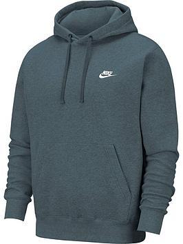 nike-sportswear-club-overhead-hoodie-green