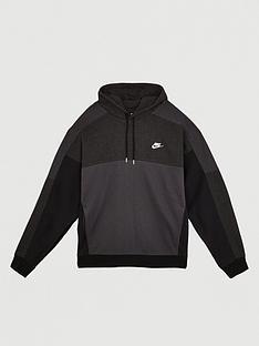 nike-sportswear-plus-size-overhead-hoodie-black