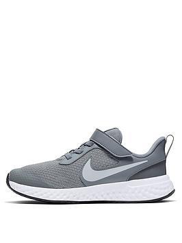 nike-revolution-5-childrens-trainer-grey-white