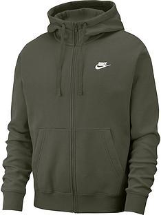 nike-sportswear-club-full-zip-hoodie-khaki