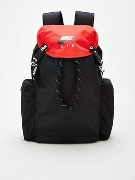 nike-air-backpack-blackred