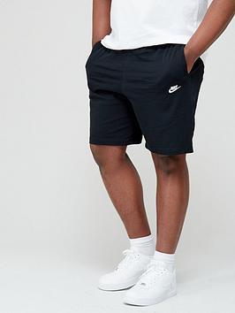 nike-sportswear-club-plus-size-shorts-black