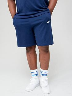 nike-sportswear-club-plus-size-shorts-navy