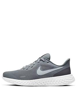 nike-revolution-5-junior-trainer-grey-white