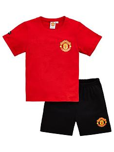 manchester-united-boys-football-manchester-united-shortie-pyjamas-red
