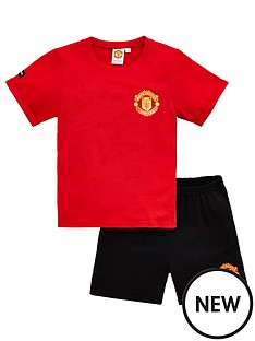 manchester-united-boys-football-manchester-united-shortie-pyjamas-red