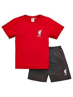 liverpool-fc-boys-footballnbspshortie-pyjamas-red