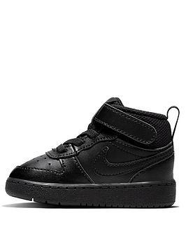 nike-court-borough-mid-2-infant-trainer-black